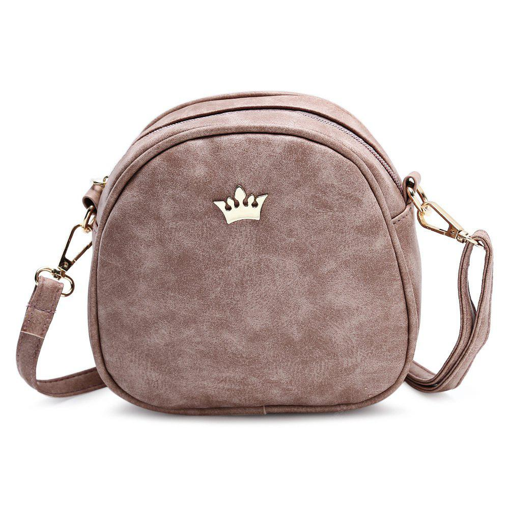 Elegante Casual PU Cross-Body Bag para las mujeres