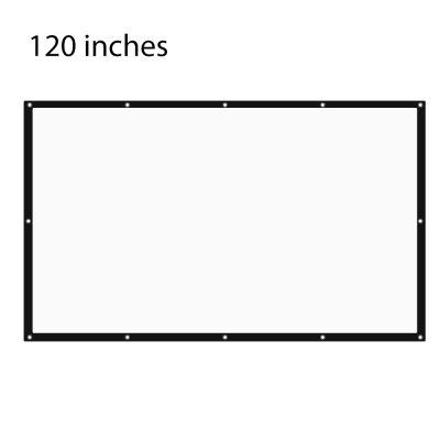 120 inch Folding Table-top Projection Screen