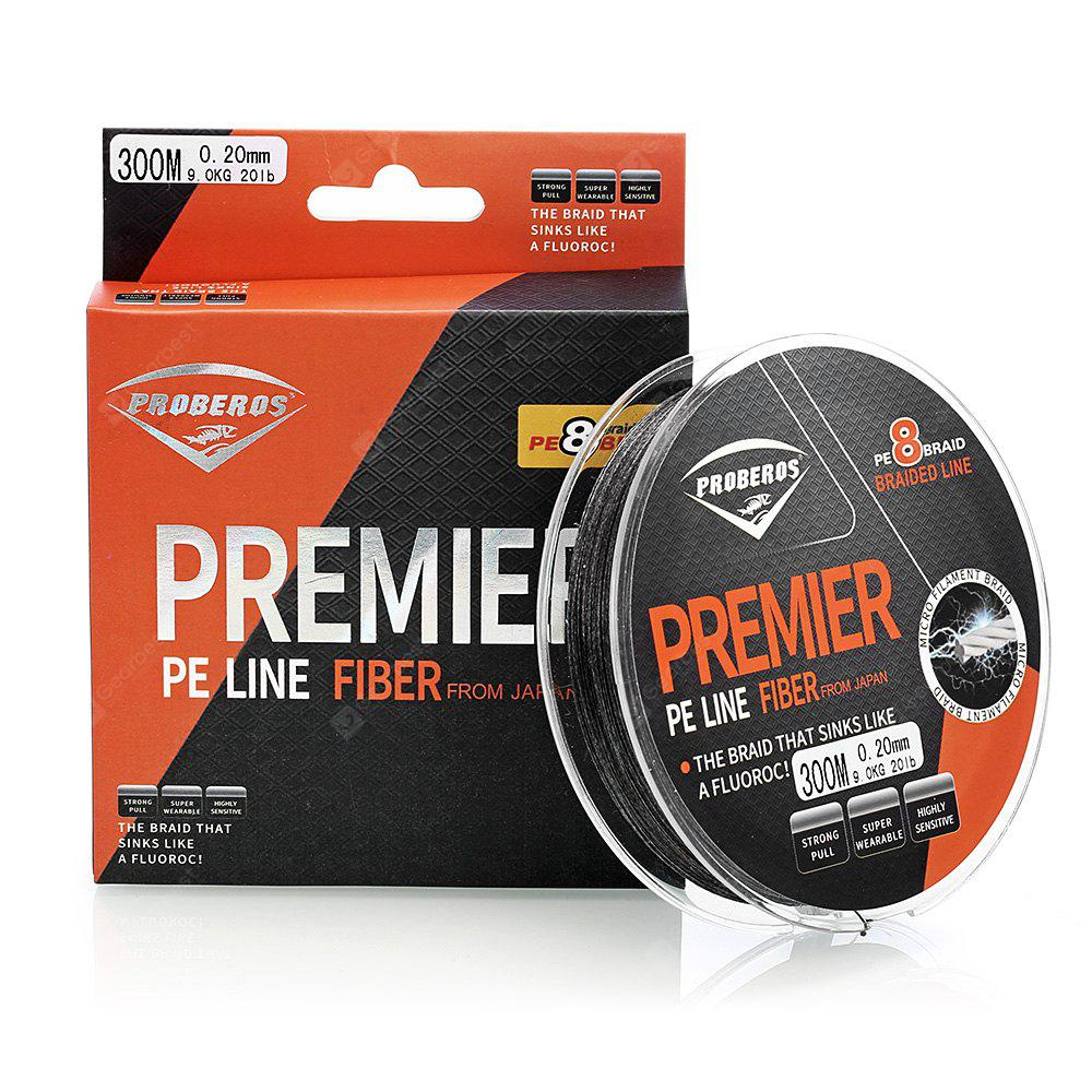 Proberos 300M 8 Strand Weave PE Braided Fishing Rope Line