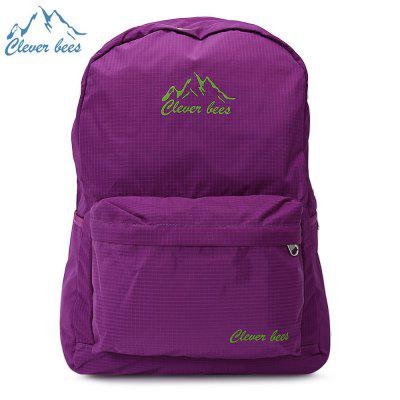 CLEVERBEES Leisure Folding Water Resistant Travel Backpack