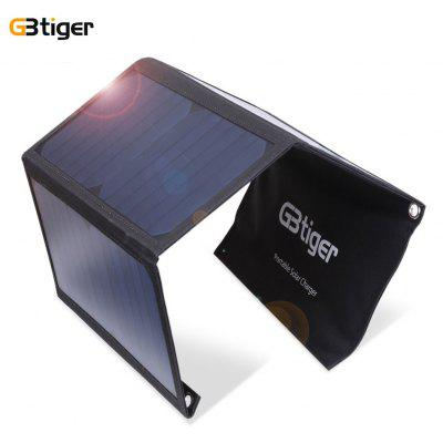 GBtiger 21W Dual USB Sunpower Charger Panel Folding Bag