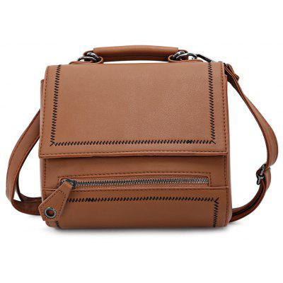 Lady Fashion Solid Color Shoulder Bag
