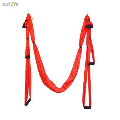 Outlife Parachute Fabric Anti-gravity Aerial Yoga Hammock