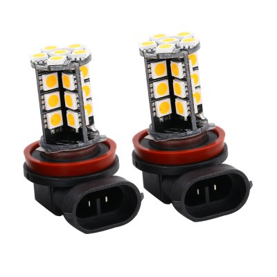 SCOE 2pcs Universal Car H8 30SMD 12V LED Fog Lamp