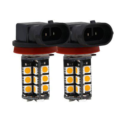 SCOE 2pcs H11 30SMD DC 12V LED Fog Lamp