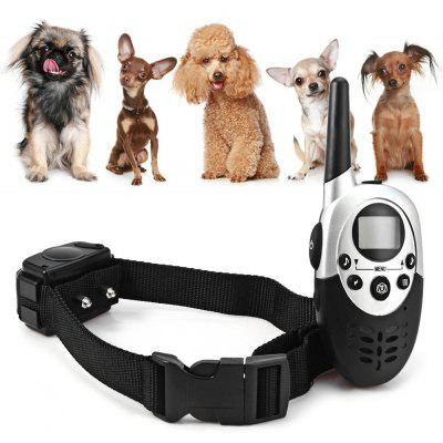 M613 LCD Rechargeable Water Resistant Remote Control Dog Training Collar