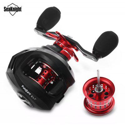 SeaKnight ELF1200 Two Brake Systems Baitcasting Water Drop Wheel with Spare Wheel