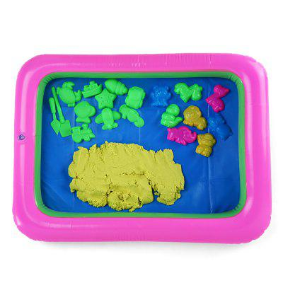 Colorful Animal Mold Space Sand Toy