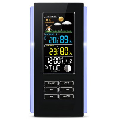 TS - 74 Digitale Wetterstation Temperatur mit 2 Sensor
