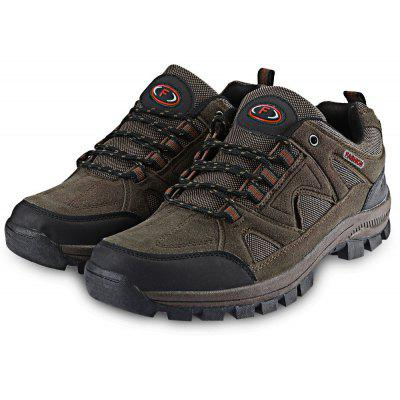 Buy Outdoor Lace Up Skip Resistance Climbing Casual Shoes, BROWN, 44, Bags & Shoes, Men's Shoes, Casual Shoes for $29.71 in GearBest store