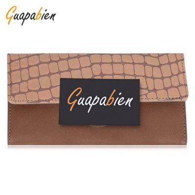 Guapabien Leather Folder Vintage Women Wallet