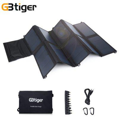 GBtiger 65W Dual Outputs  Solar Charger