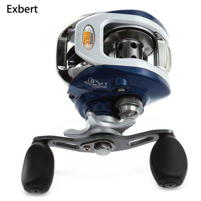 Exbert AF105 8 + 1 Bearings High Speed Bait Casting Water Drop Wheel