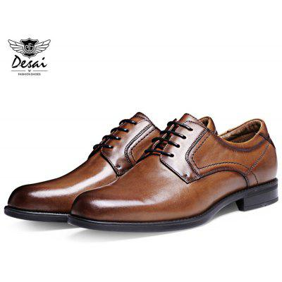 DESAI Business Pointed Toe Chaussures en cuir masculin