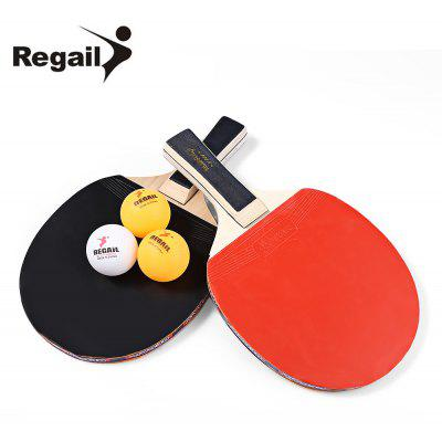 REGAIL A508 Table Tennis Ping Pong Racket Set