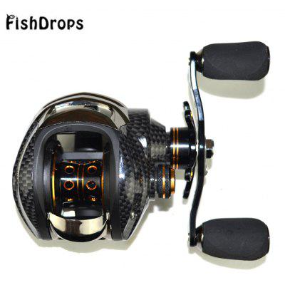 Fishdrops LB200 7.0:1 18BB Left / Right Hand Baitcasting Reel