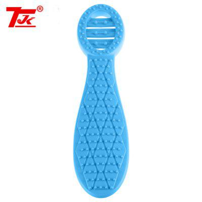 TJK TPE Health Scraping Meridian Beater Massage Stick