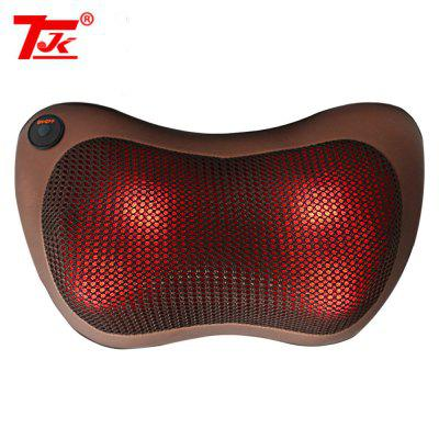 TJK TT - 602B 8 Heads Infrared Heating Electric Massager Pillow