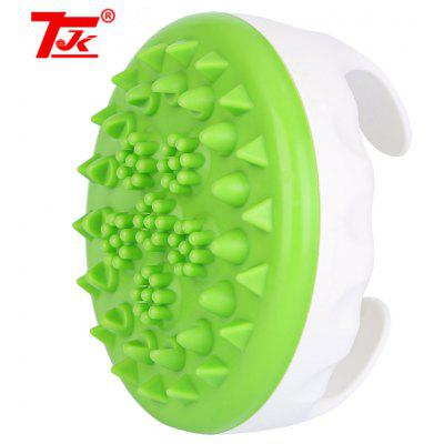 TJK Soft Cellulite Body Massager Oil Scorpion Meridian Brush Slimming Relaxing Spa