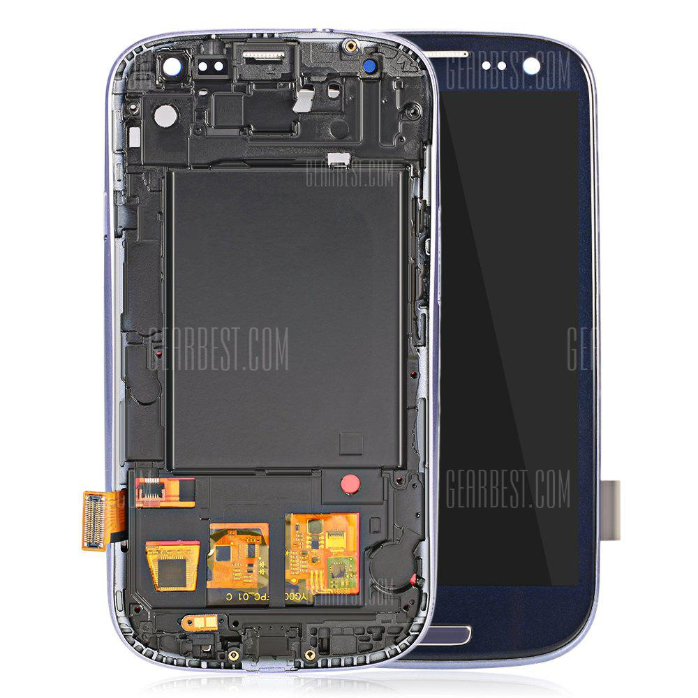 Outer Glass LCD Screen Assembly Frame for Samsung S3 I747