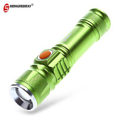 Shengfeihuo XML - T6 LED Waterproof Zoom Flashlight
