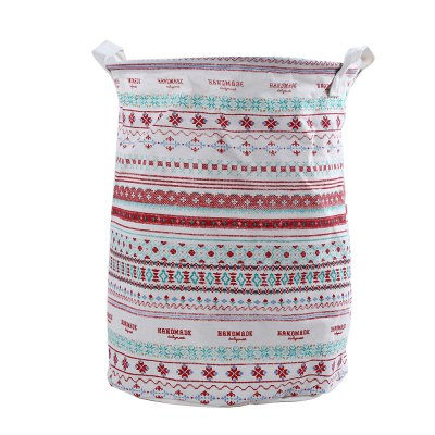 Multipurpose Cotton Linen Laundry Hamper Toy Box