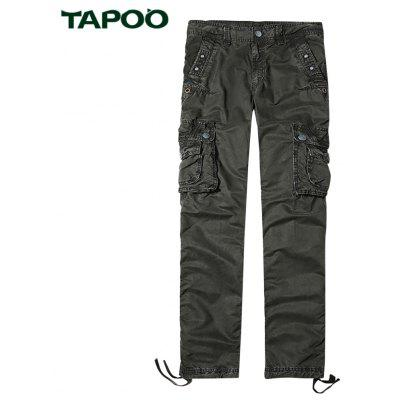 Buy DEEP GRAY TAPOO Outdoor Men Pants for $63.65 in GearBest store