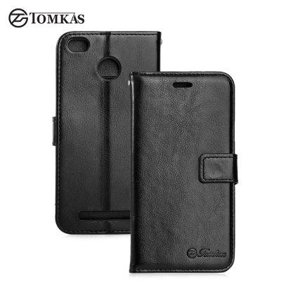 Tomkas Crazy Horse Series Case for Xiaomi Redmi 3S / 3 Pro