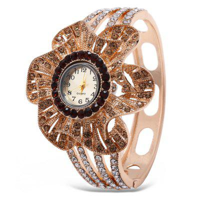 Fashion Women Rhinestone Bracelet Quartz Watch
