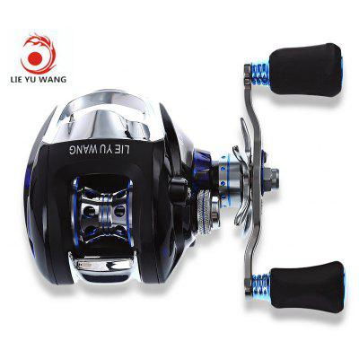 LIE YU WANG LP 12 + 1 Bearings High Speed Bait Casting Water Drop Wheel