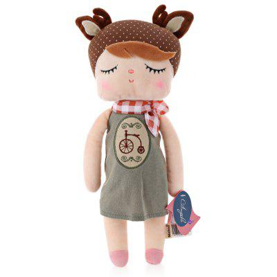 Metoo Angela Plush Doll - Bicicleta