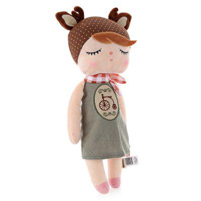 Metoo Angela Plush Doll - BikeStuffed Cartoon Toys<br>Metoo Angela Plush Doll - Bike<br><br>Age Range: &gt; 3 years old<br>Features: Soft<br>Material: Plush, PP Cotton<br>Package Contents: 1 x Plush Doll, 1 x Packaging Bag<br>Package Size(L x W x H): 37.00 x 16.00 x 10.00 cm / 14.57 x 6.3 x 3.94 inches<br>Package weight: 0.1450 kg<br>Product weight: 0.1170 kg<br>Type: Plush/Nano Doll