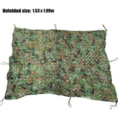 1.53M x 1.99M Woodland Military Camouflage Net