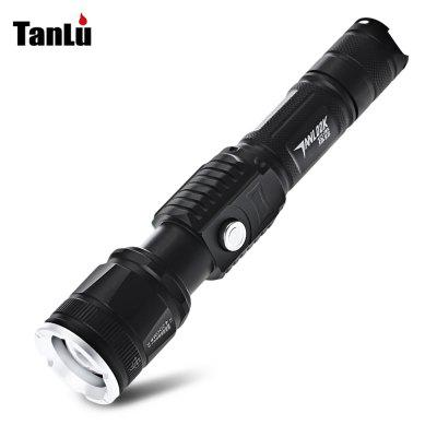 Buy BLACK TANLU S6 LED Flashlight for $14.03 in GearBest store