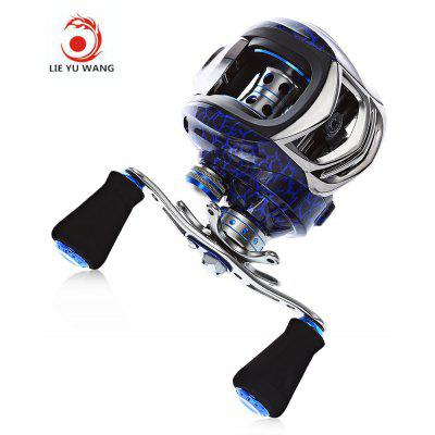 LIE YU WANG High Quality 14 + 1 Bearings Water Drop Wheel