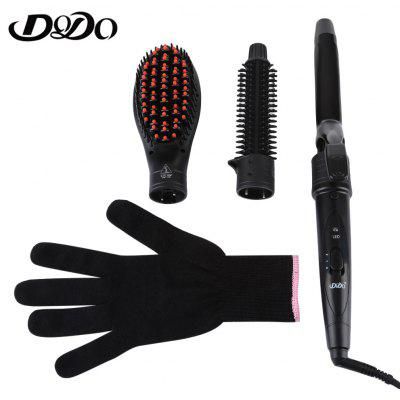 DODO Intercambiable Electric 3 em 1 Hair Curler Styling Tool