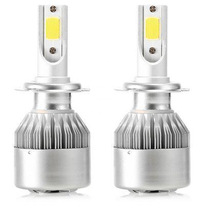 CROSS TIGER H7 72W 7600LM Pair of Car LED Headlight