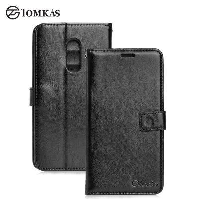 Tomkas Crazy Horse Series Wallet Case for Xiaomi Redmi Note 4