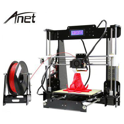Anet A8 Desktop 3D Printer - US PLUG BLACK
