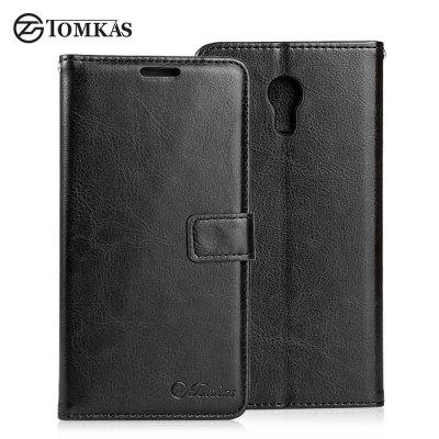 Tomkas Crazy Horse Series Wallet Case for Meizu M3 Note
