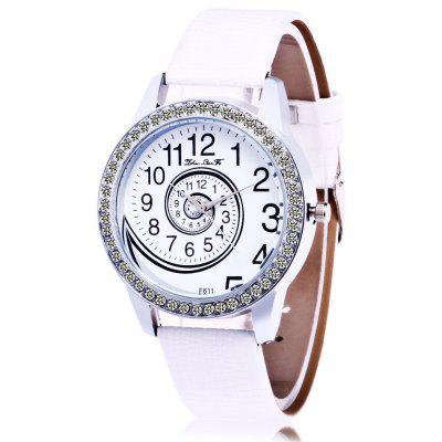 Women Rhinestone Quartz Watch