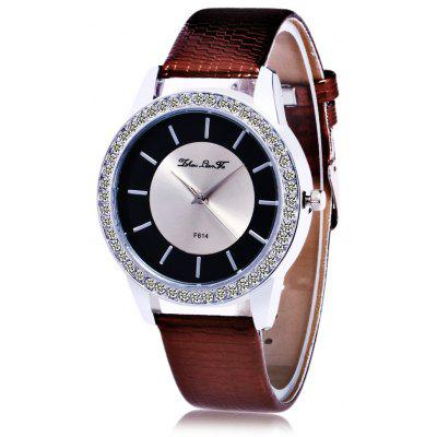Female Rhinestone Quartz Watch