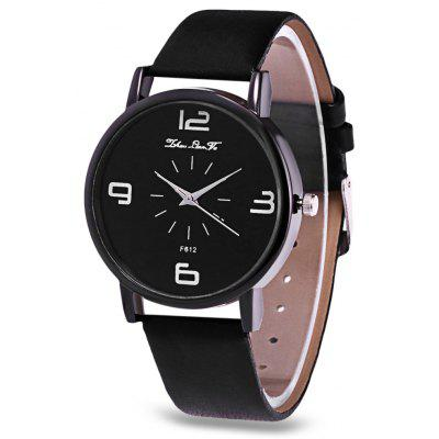 Gearbest Women Summer Quartz Watch  -  BLACK