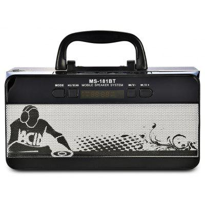 Redmaine MS - 181BT FM Radio Wireless Bluetooth Laptop Speaker