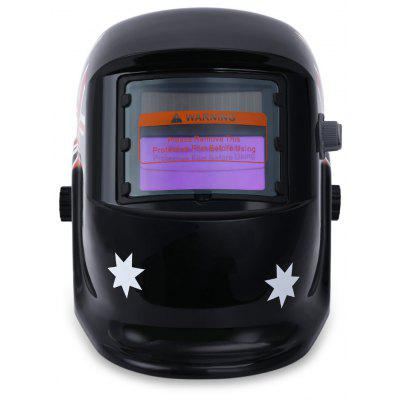 British Flag Pattern Solar Power Welding Helmet