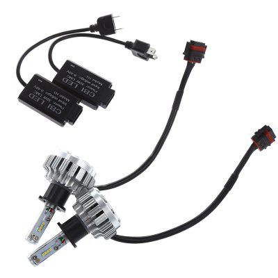2pcs CBI H3 Car LED Headlight