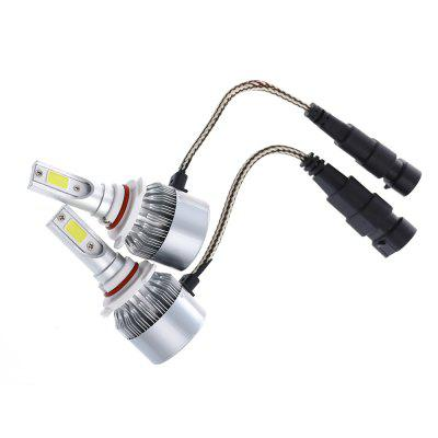 2pcs C6 9005 LED Car Headlight Bulbs