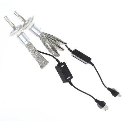 2pcs R3 H4 40W Car LED Headlight