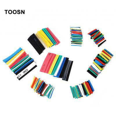 TOOSN 328pcs / Pack Colorful Heat Shrink Tubing