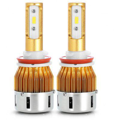 TIROL T23904 H8 40W 4800LM Pair of Car LED Headlight